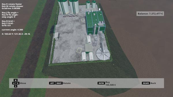 farming simulator 17 bio oil plant instructions