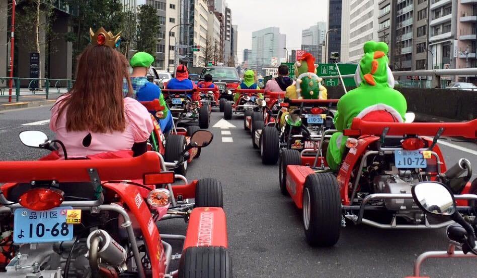 go kart street tour adventure with guide akihabara
