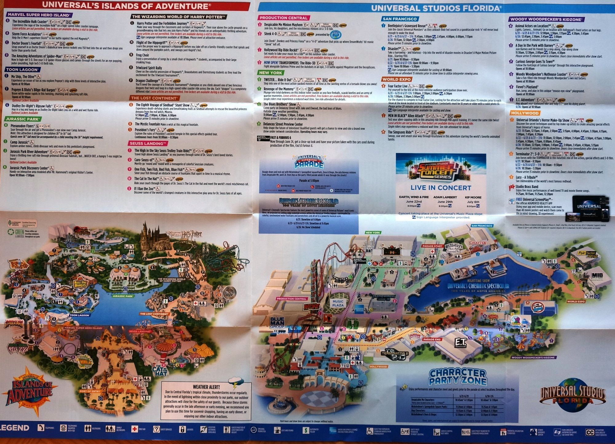 guide and map of orlando