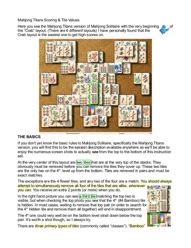 mahjong instructions for beginners