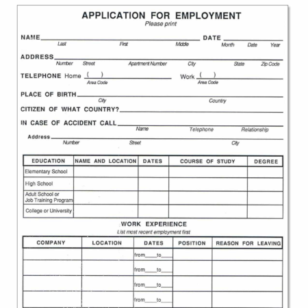 job support application
