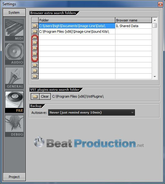 how to import sample library fl studio