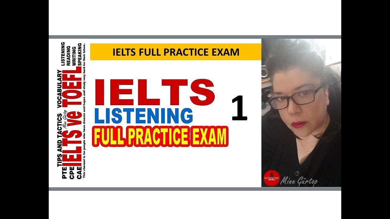 ielts listening sample test youtube