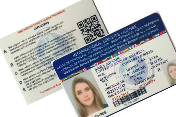 international drivers license application