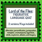 lord of the flies chapter 3 quiz pdf