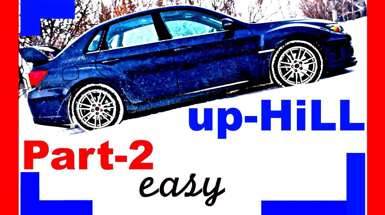 how to drive a manual car hill start