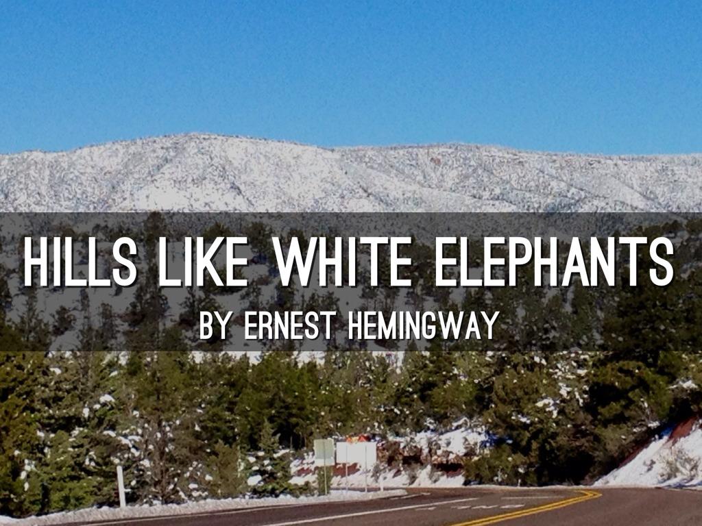 hills like white elephants pdf