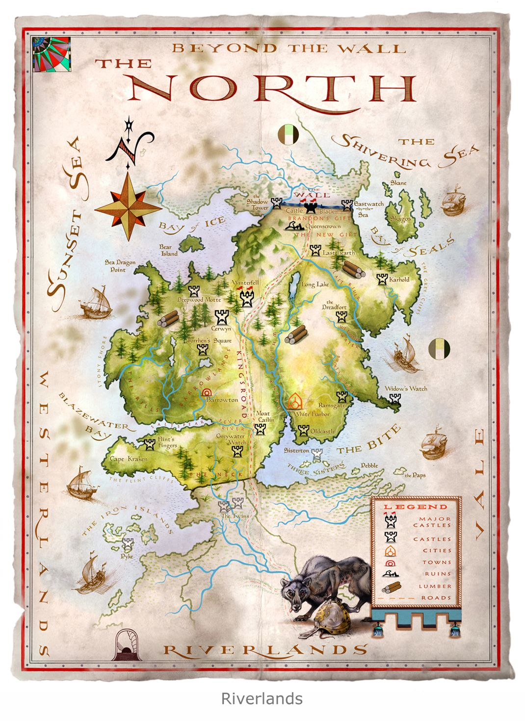 game of thrones book map pdf