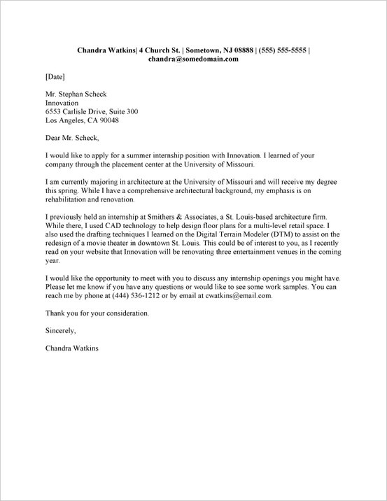how to write a good cover letter pdf