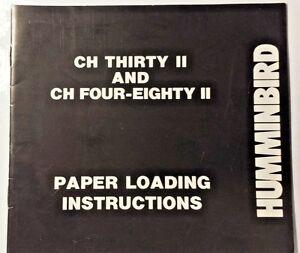 humminbird depth sounder manual