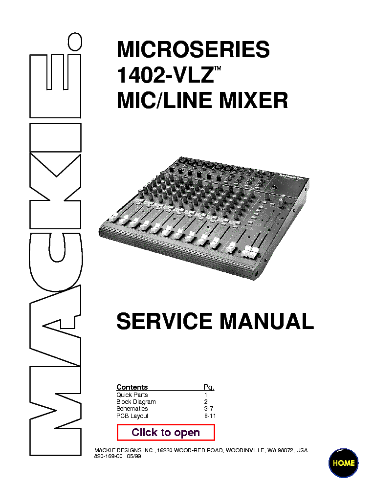 mackie profx12 service manual
