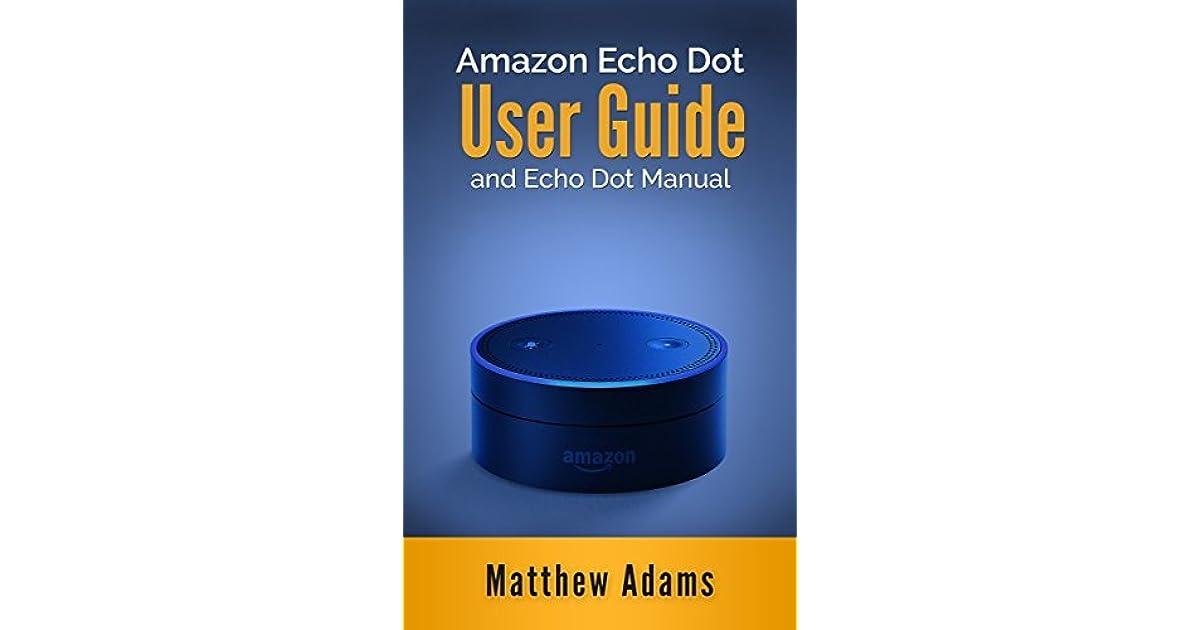 echo dot manual