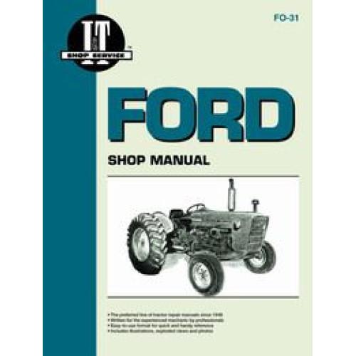 ford 4000 workshop manual