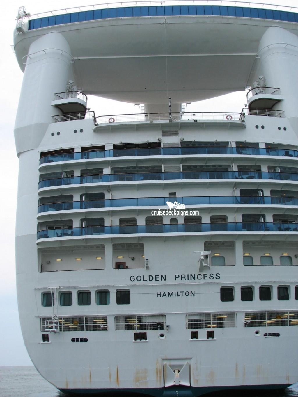golden princess deck plan pdf