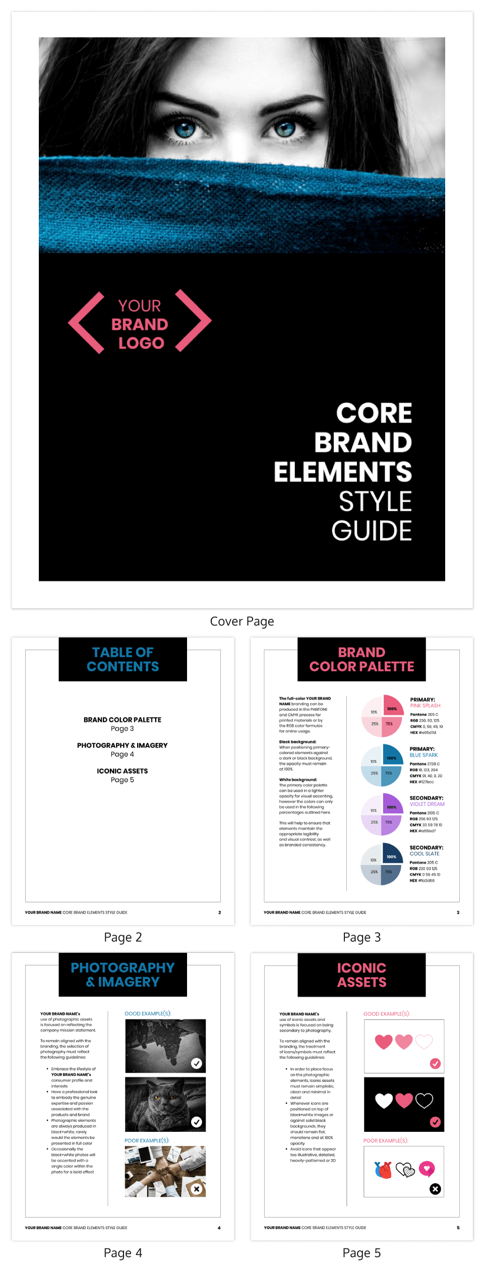 house style guide examples