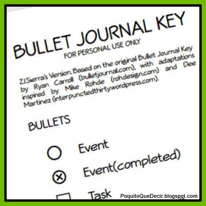 how to bullet journal pdf