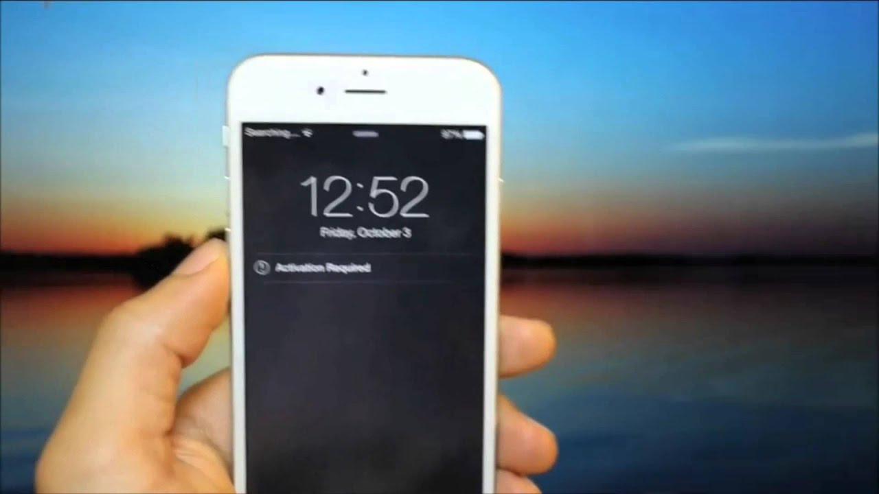 iphone 4 manual network search