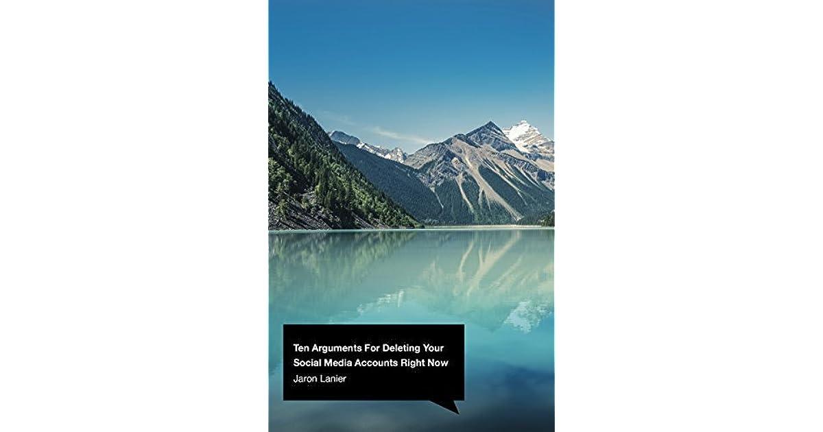 jaron lanier ten arguments pdf
