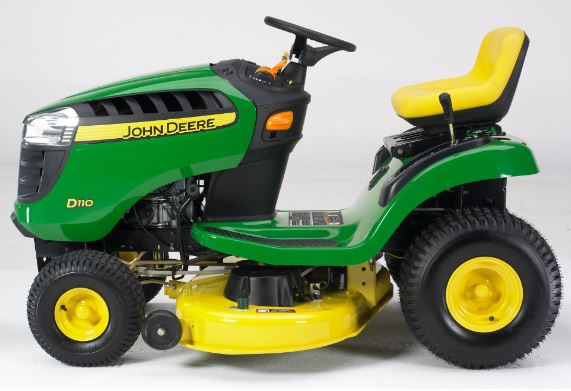 john deere d110 operating instructions