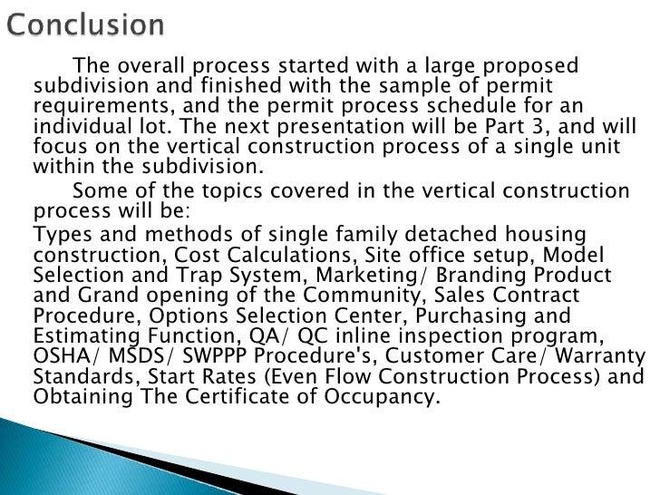 land development plan sample
