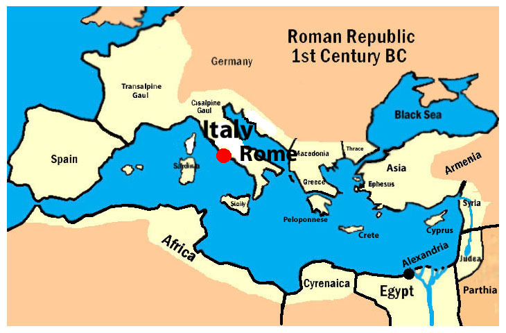 map of ancient rome pdf